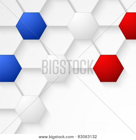 Seamless Texture Soccer Ball Background With France Flag Colors