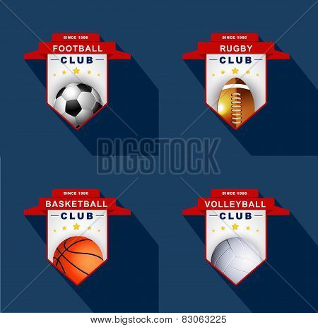 Sports Labels  ,badge,emblem
