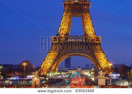 Paris. Eiffel Tower.
