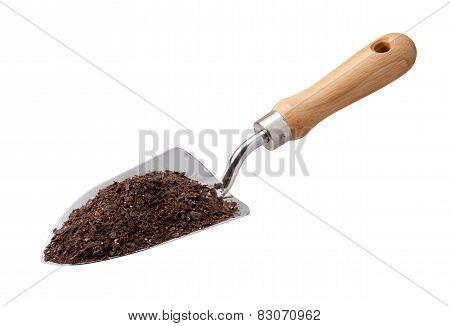 Garden Trowel With Potting Soil