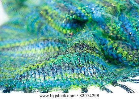 Woolen Scarf Texture