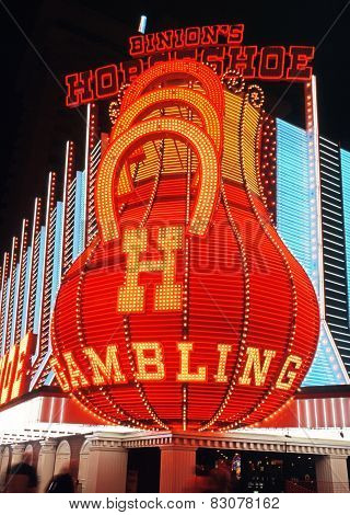 Binions Horseshoe Casino, Las Vegas.