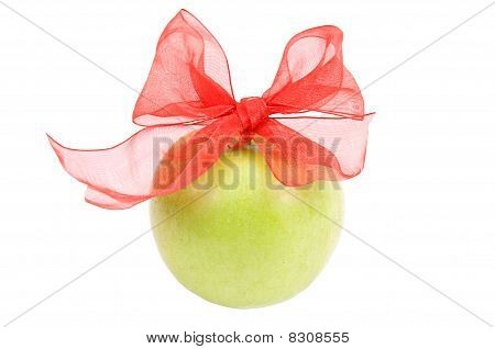 Bow On Apple