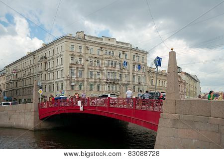 Red Bridge, Saint Petersburg
