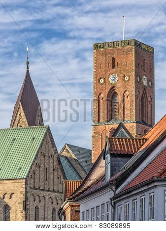 Detail Of The Cathedral In Ribe, Denmark