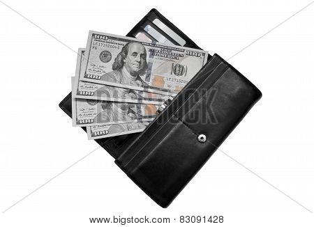 Dollars In A Purse