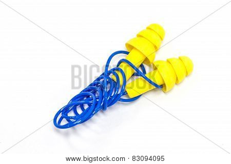 Yellow Earplugs