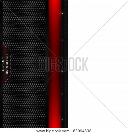 Abstract vector background with rubber texture and blue line
