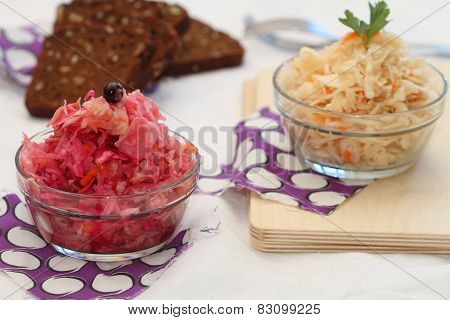 Sauerkraut Of Two Types