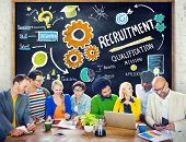stock photo of recruiting  - Ethnicity Business People Communication DIscussion Recruitment Concept - JPG