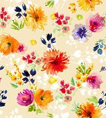 picture of pastel colors  - Watercolor background with bright colors - JPG