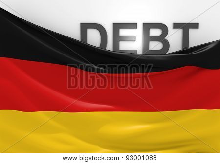Germany national debt and budget deficit financial crisis