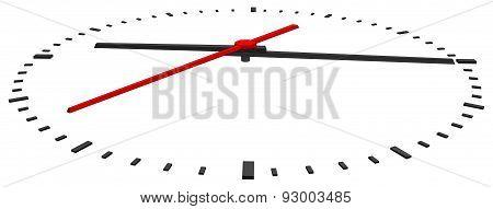 Clock face. Vector