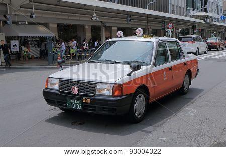 Japanese taxi cab Japan