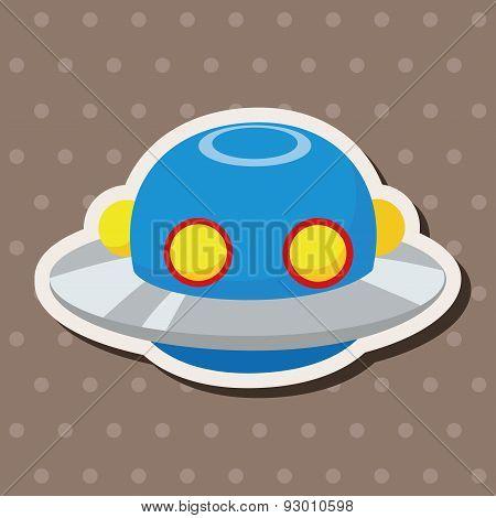 Space Ufo Theme Elements