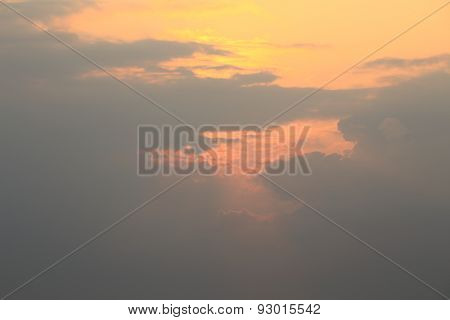 Clouds and Sunset