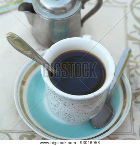 Cup Of Instant Coffee