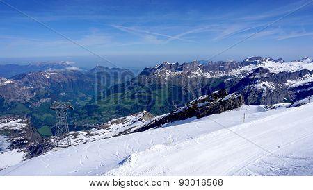 Titlis Snow Mountains Switzerland
