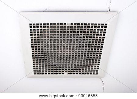 Dirty Ventilation Fan