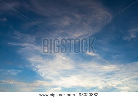 Sunset Sky Background