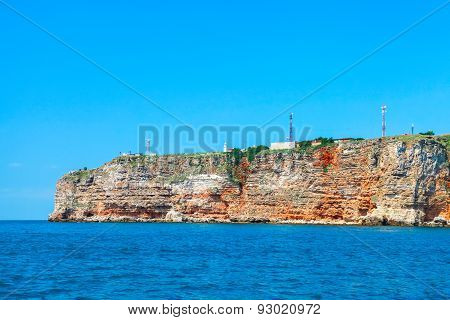 Coastal Landscape Of Kaliakra Headland