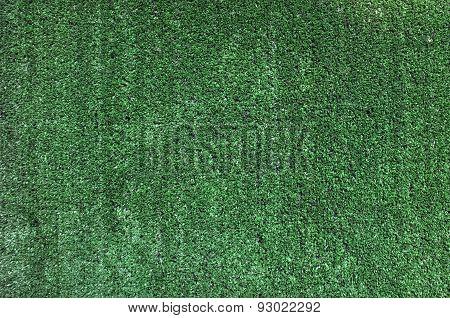 Artificial green grass panel