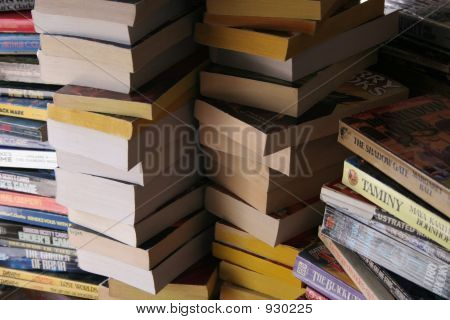 Piled Books 1