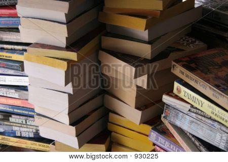 Piled Books 1