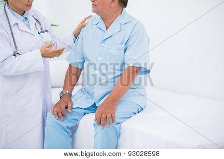 Senior patient