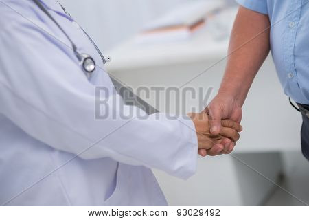 Thanks to doctor