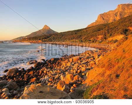 Table Mountain And Lion's Head Bay