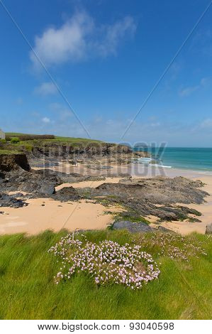 South West England Harlyn Bay North Cornwall England UK near Padstow and Newquay