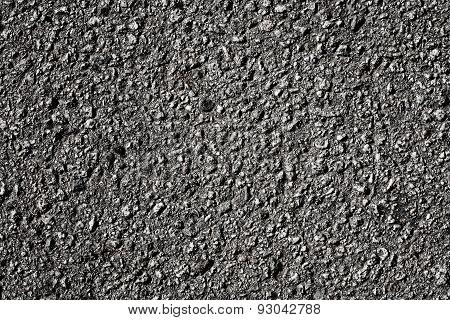 asphalt close up