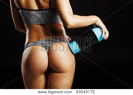 Pretty Buttocks With Shaker Sport Nutrition