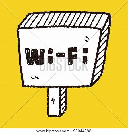 Wifi Board Doodle