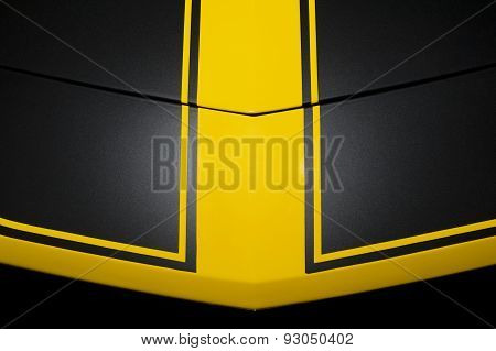 Black car bodywork