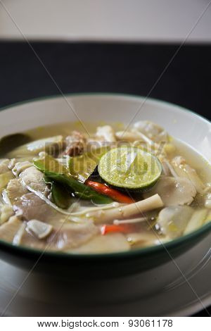Tom Yum Thai Food