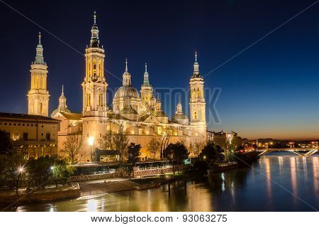Our Lady of the Pillar in Zaragoza, Aragon