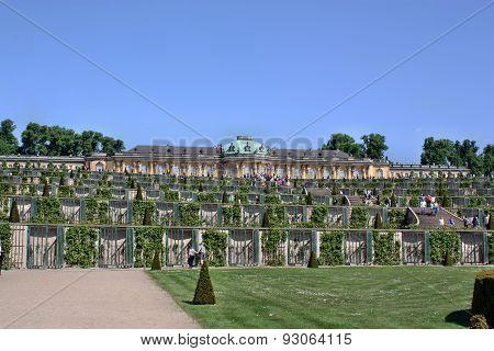 Palace Schloss Sanssouci