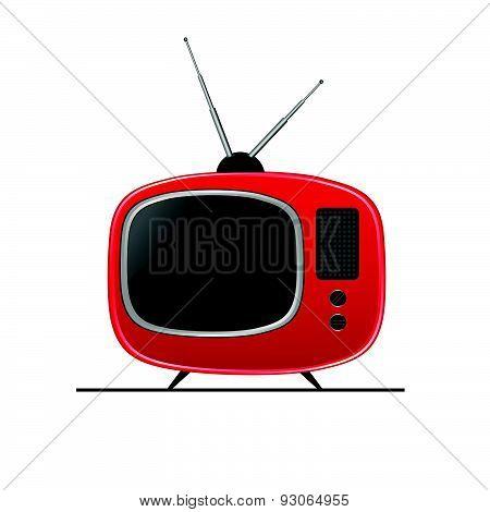Tv Color Vector