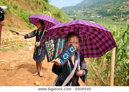 H'mong Hill Tribe People Sapa