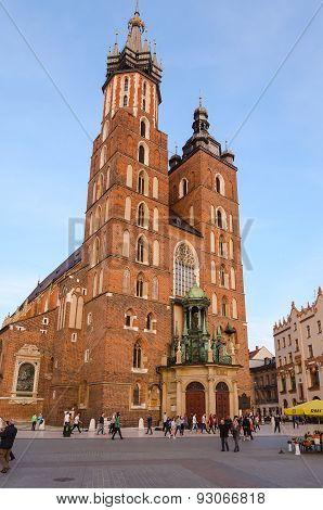 St. Mary's Church in Krakow.