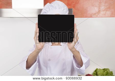 Chef Showing Screen Blank Tablet