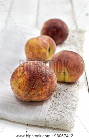Peaches On A Napkin