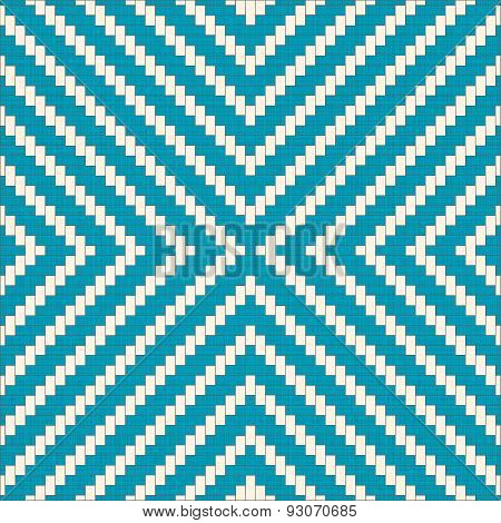 Seamless Pattern With Zig Zag