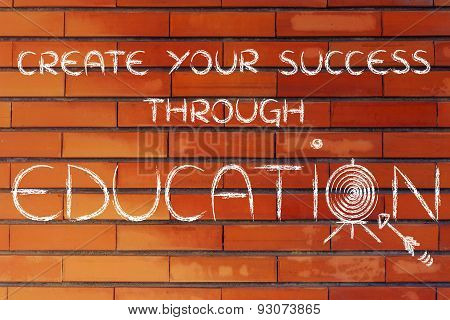 Life Goals: Create Your Success Through Education
