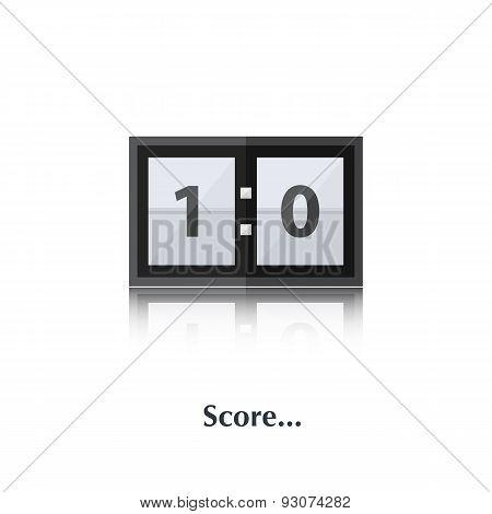 PrintScore board