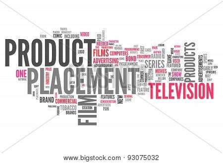 Word Cloud Product Placement