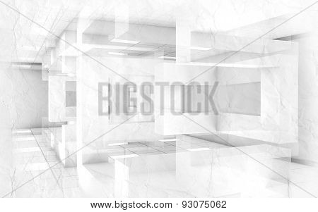 Abstract Creative Architecture Blueprint Background