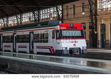 Spanish Passenger Train